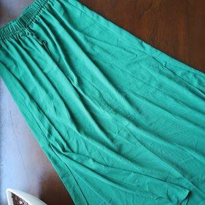 Zara basic long skirt